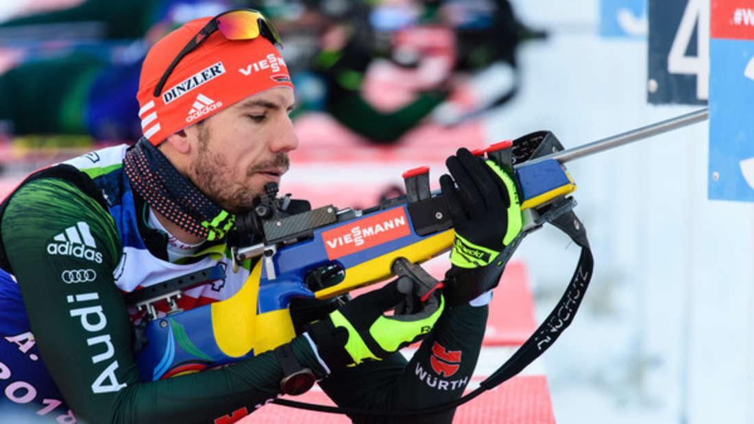 Biathlon-Weltcup Arnd Peiffer