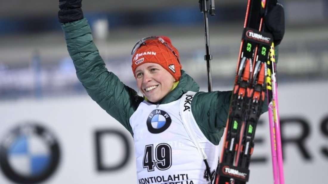 Biathlon Weltcup in Finnland