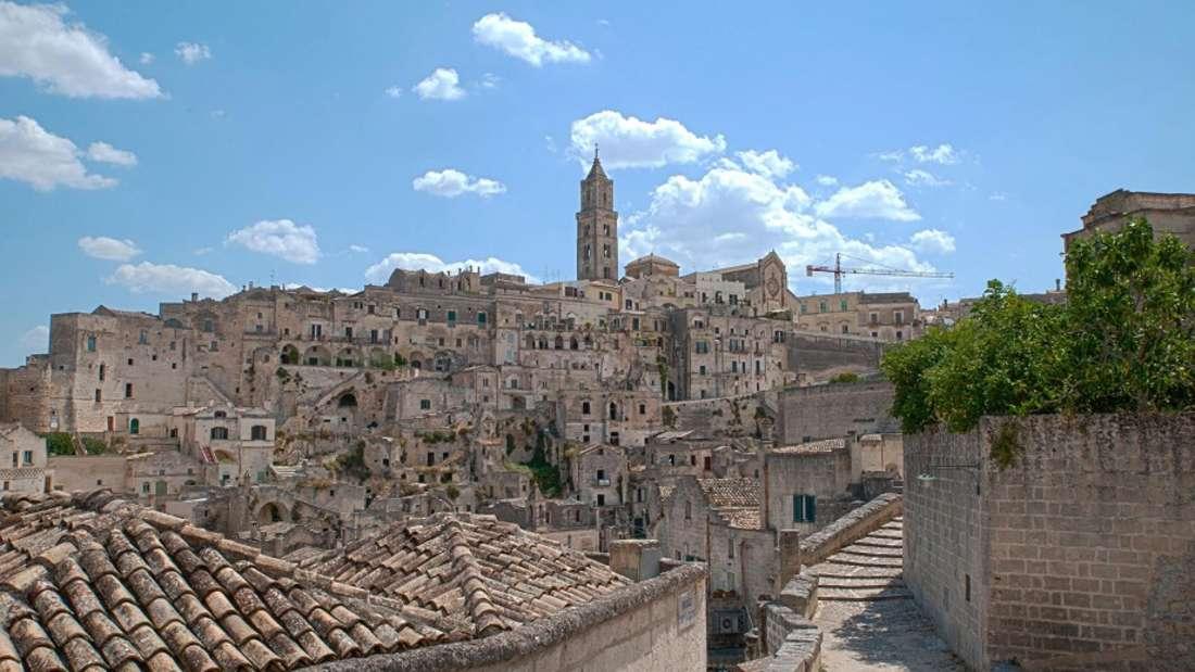 Matera ist eine der zwei Kulturhauptstädte Europas2019.