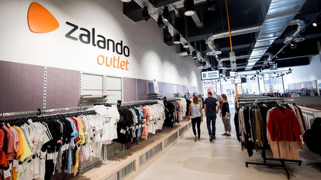 Zalando Outlet-Store.