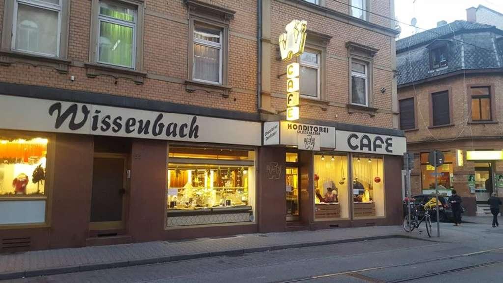 Mannheim Neckarstadt Traditions Konditorei Und Café Wissenbach