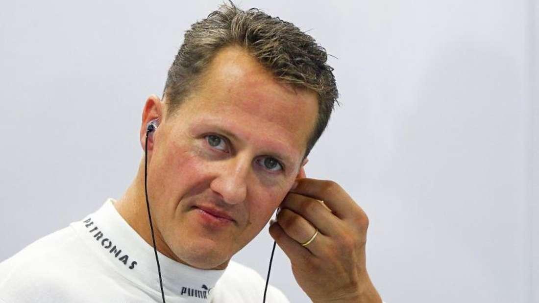 Auch fünf Jahre nach dem Skiunfall gibt es noch immer keine Detaisl zum Zustand von Michael Schumacher. Foto (2012): Diego Azubel/EPA Files Foto: Diego Azubel