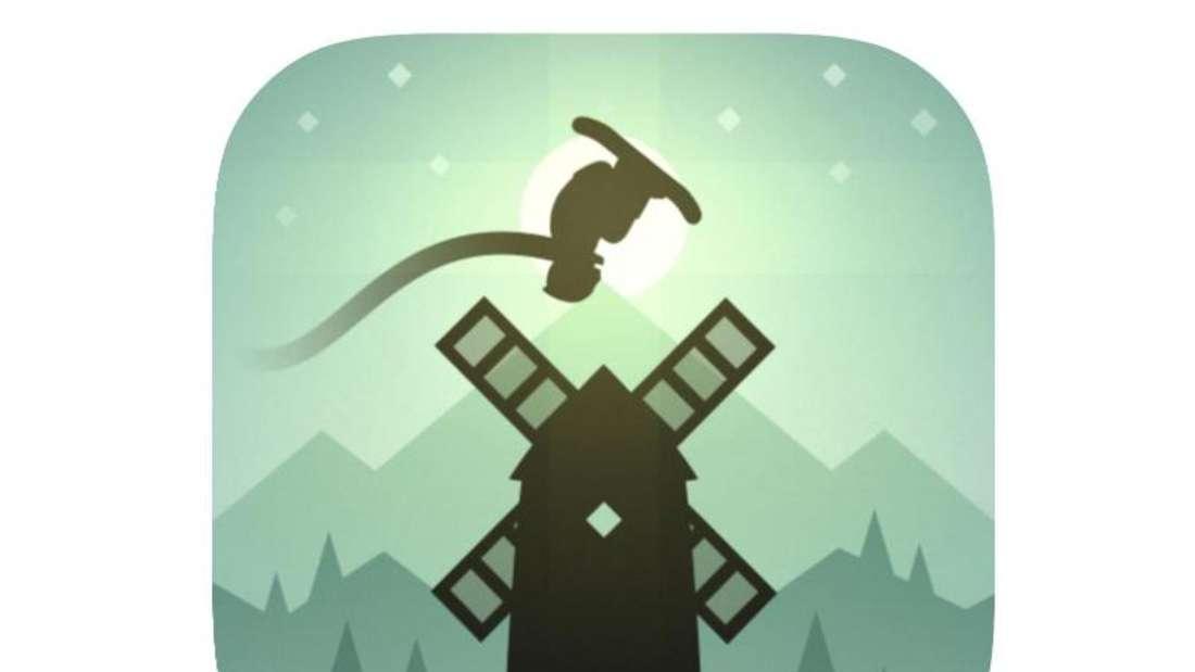 «Alto's Adventure» macht das virtuelle Snowboarden durch ein abwechslungsreiches Terrain und dynamische Licht- und Wettereffekte zum Erlebnis. Foto: App Store von Apple