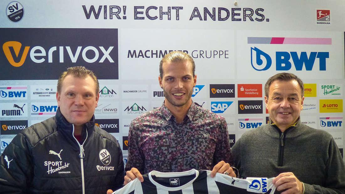 Rechtsverteidiger Dennis Diekmeier wechselt zum SV Sandhausen. © SV Sandhausen