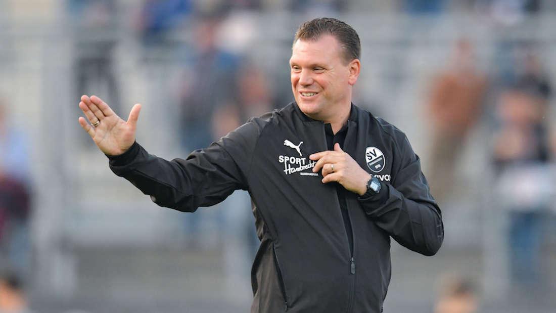Uwe Koschinat geht in seine erste Vorbereitung als Trainer des SV Sandhausen.