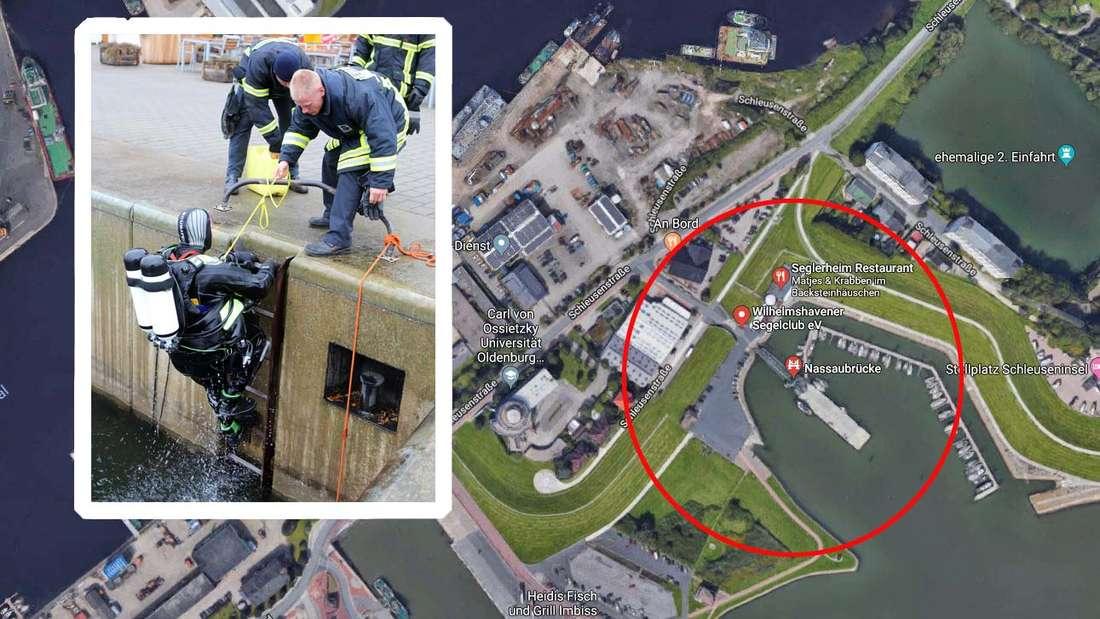 Ein tragischer Unfall mit tödlichem Ausgang ereignete sich am Nassauhafen in Wilhelmshaven.