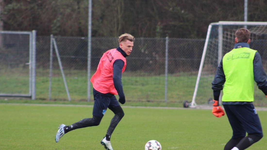Fotos vom Trainingsauftakt der TSG Hoffenheim zum Rückrunden-Start.