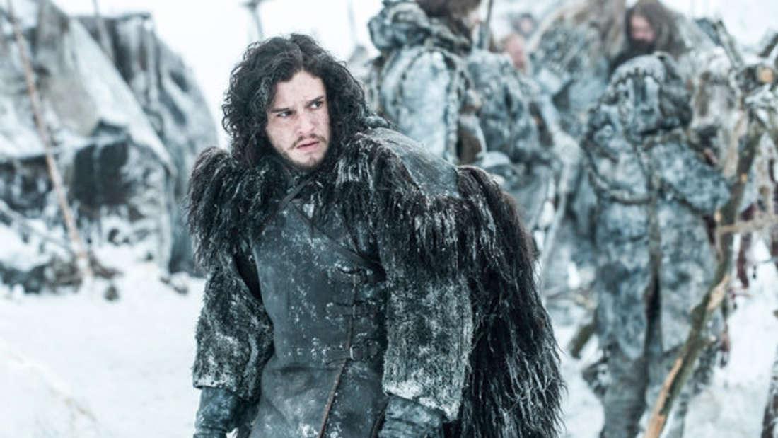 """Die letzte Staffel von """"Game of Thrones"""" steht an - ob Jon Snow die Weißen Wanderer aufhalten kann?"""