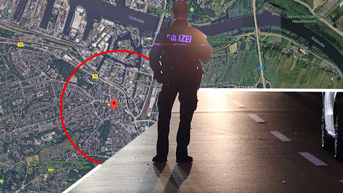 Ein von Passanten in Hamburg-Harburg gefundener Mann erlag Verletzungen im Gesicht und am Oberkörper. Die Mordkommission geht von einem Tötungsdelikt aus.