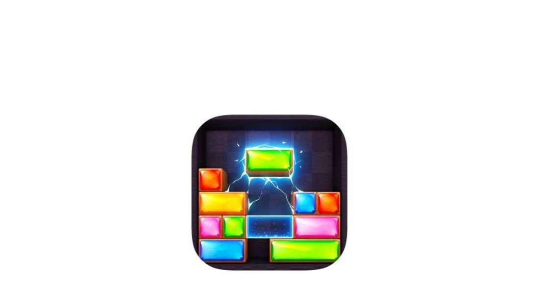 «Jewel Blast Block Drop Puzzle» erinnert ein wenig an Tetris, mach aber auch genauso viel Spaß. Foto: App Store