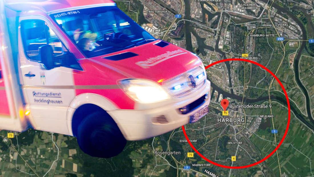 Hamburg: Tödlicher BMW-Unfall in Heimfeld - Mann bei Spaziergang mit Hund überfahren.