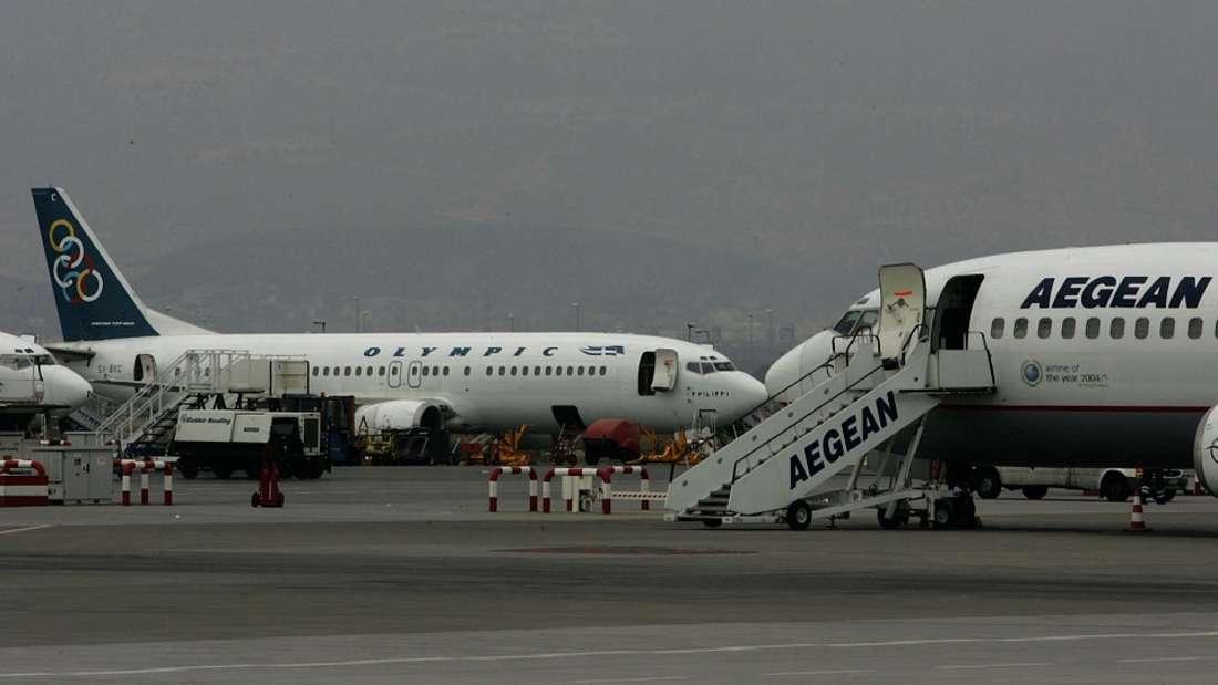 Die Aegean Airlines landete im Ranking auf Platz drei.