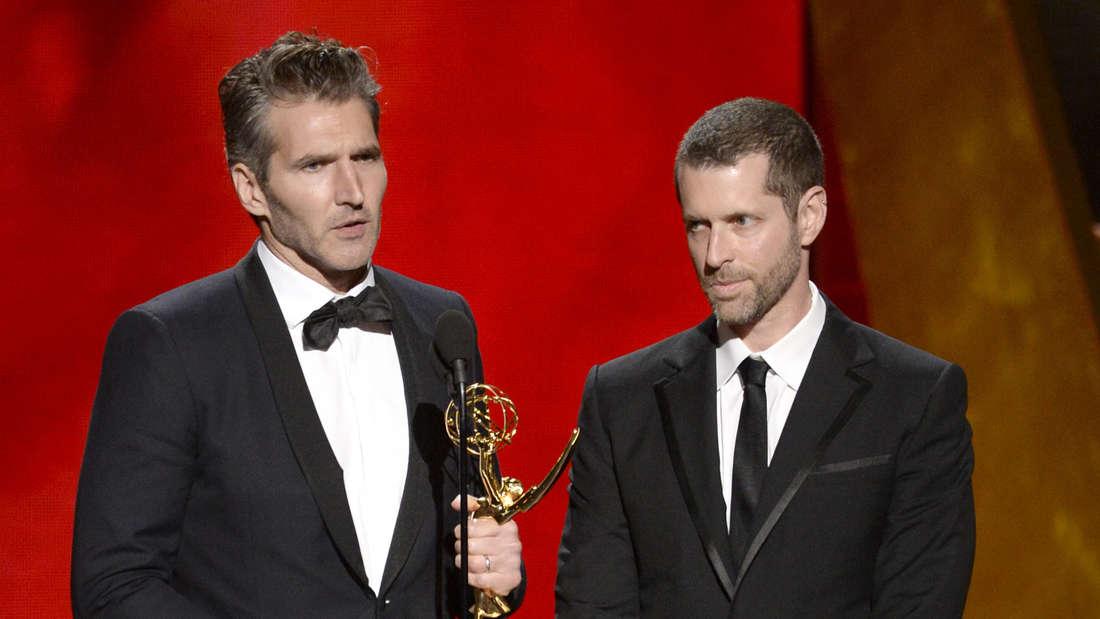 """Erfolgsduo: Die Produzenten David Benioff (l.) und D.B. Weiss haben""""Game of Thrones"""" ins Fernsehen gebracht."""