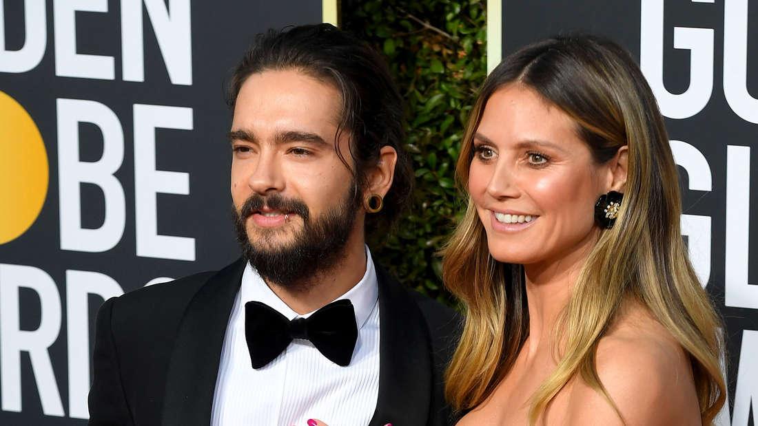 Heidi Klum zeigt sich gern mit ihrem Partner Tom Kaulitz, wie hier bei den Golden Globes.