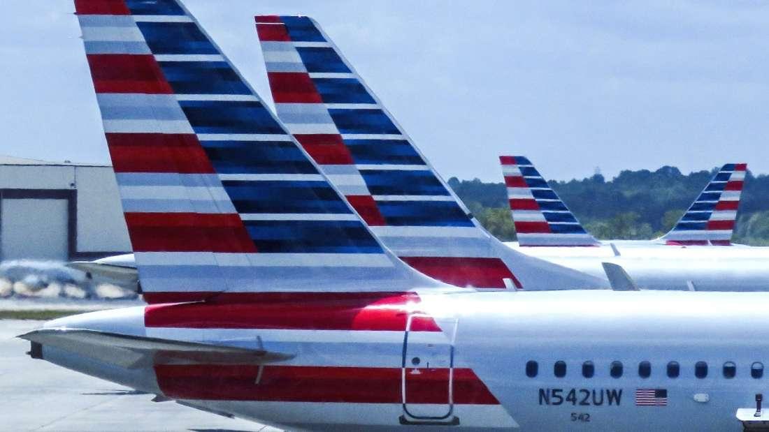 Der Vorfall ereignete sich an Bord einer American-Airlines-Maschine. (Symbolbild)