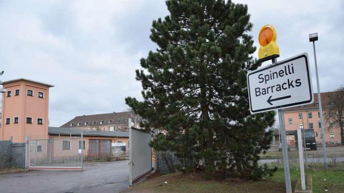 Großeinsatz in den Spinelli-Barracks. (Archivfoto)