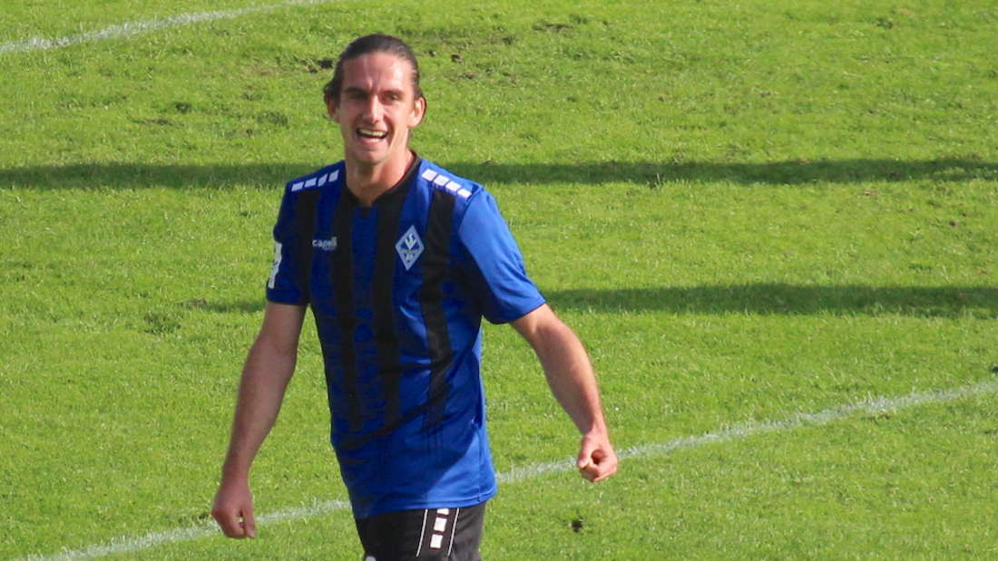 Valmir Sulejmani spielt seit Sommer 2018 für den SV Waldhof Mannheim.