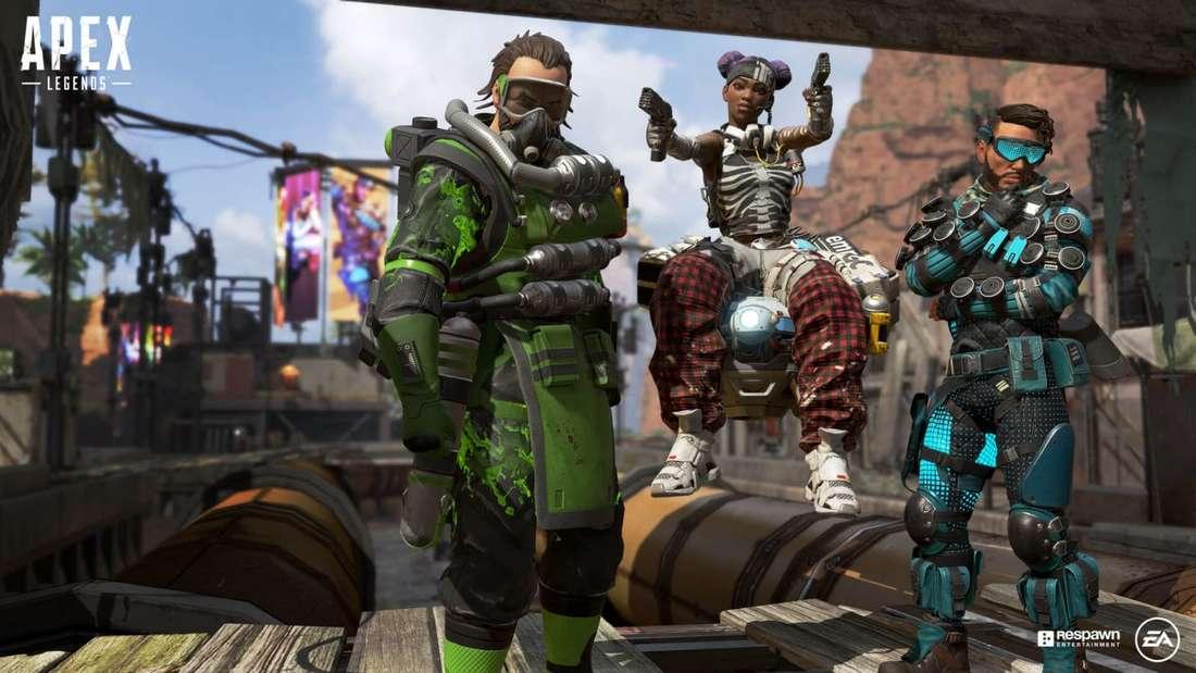 Kann Apex Legends Fortnite vom Battle-Royale-Thron stoßen?
