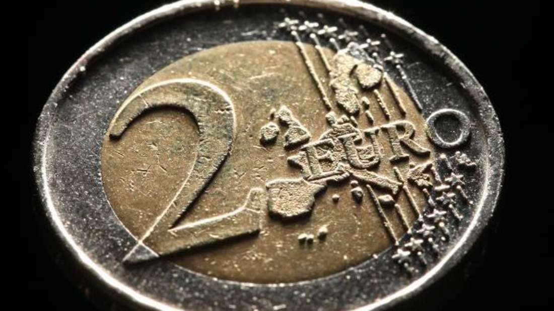 Eine 2-Euro-Münze aus Deutschland wird jetzt auf eBay zum Rekordpreis angeboten - doch Vorsicht! (Symbolbild)