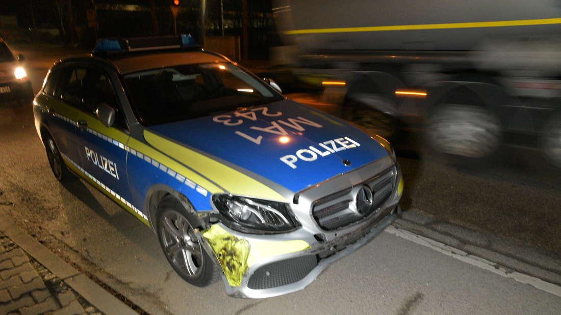 Überfall auf einen Schrotthändler: Großeinsatz der Polizei am Freitagabend (15. Februar) in Rheinau.