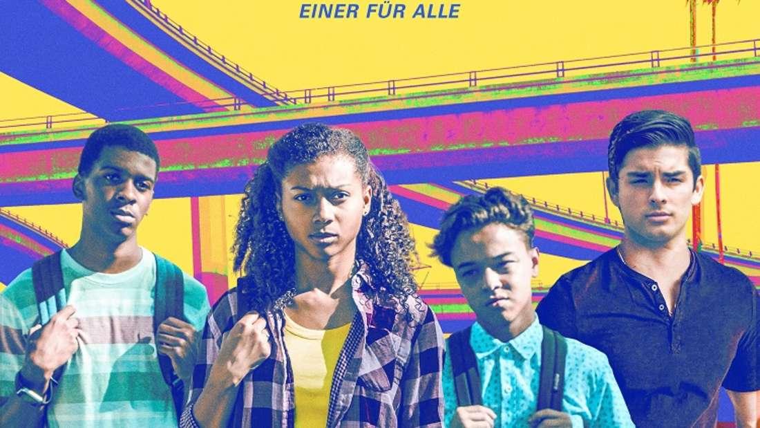 """Platz 2: """"On My Block"""" handelt von vier Jugendlichen aus der gleichen Nachbarschaft, deren Freundschaft getestet wird, als sie auf die High School kommen. Die Coming-of-Age-Serie schafft es auf Platz zwei des Rankings."""