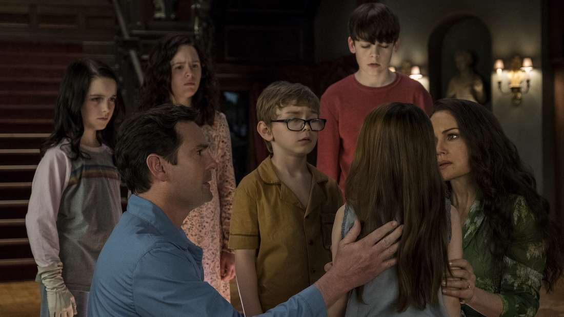 """Platz 7: """"Spuk in Hill House"""" sorgte 2018 für den nötigen Gruselfaktor auf der heimischen Couch - und wurde allerseits als eine der besten Horror-Serien seit langem gefeiert."""