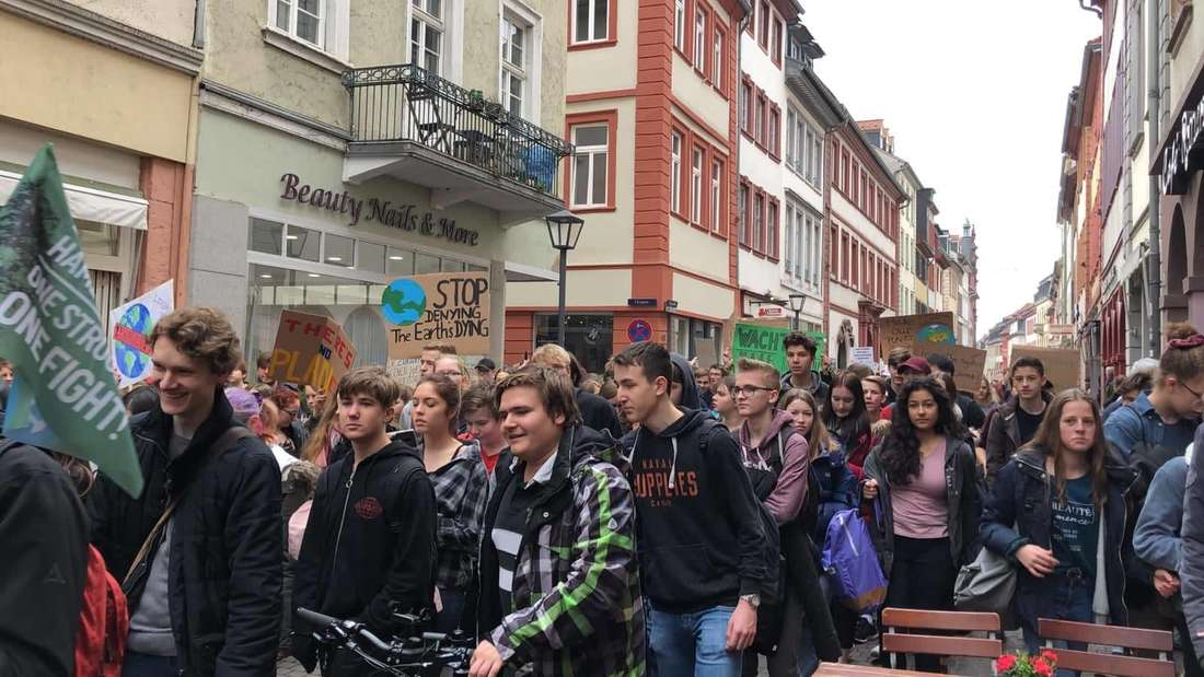 ,Friday for Future'-Demo in Heidelberg