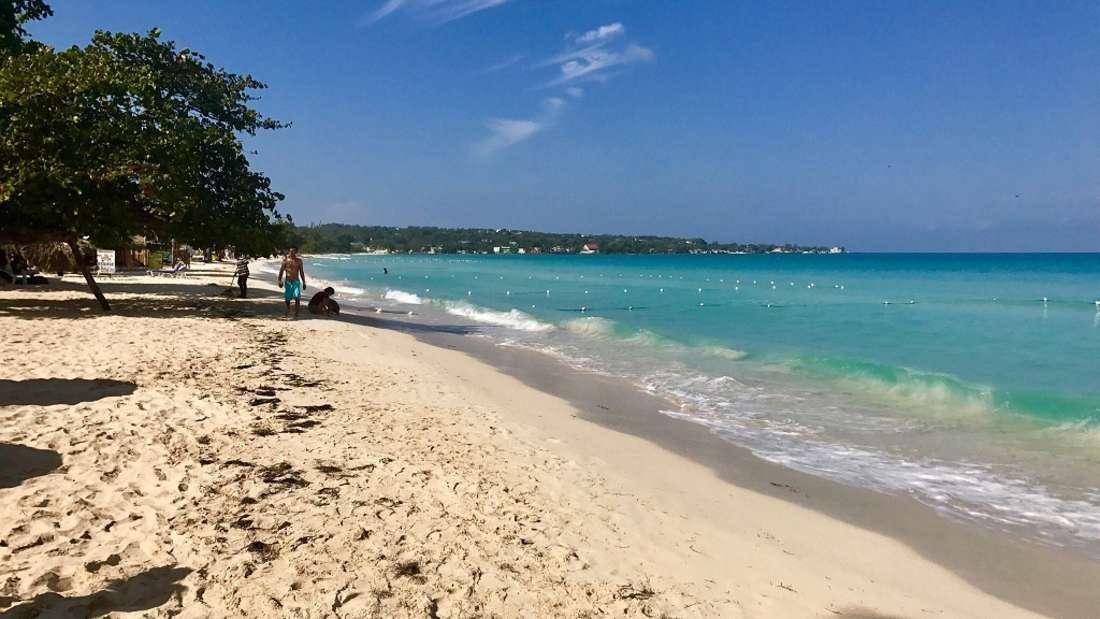 10. Seven Mile Beach, Jamaika