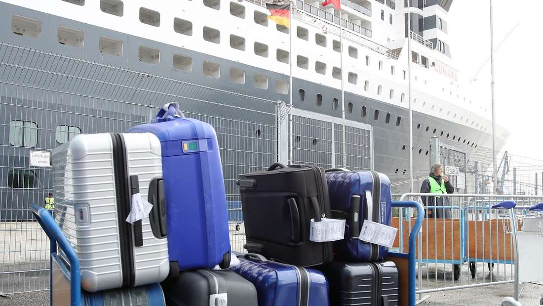 Für unterschiedliche Kreuzfahrten gibt es unterschiedliche Bestimmungen für die Gepäckmitnahme.