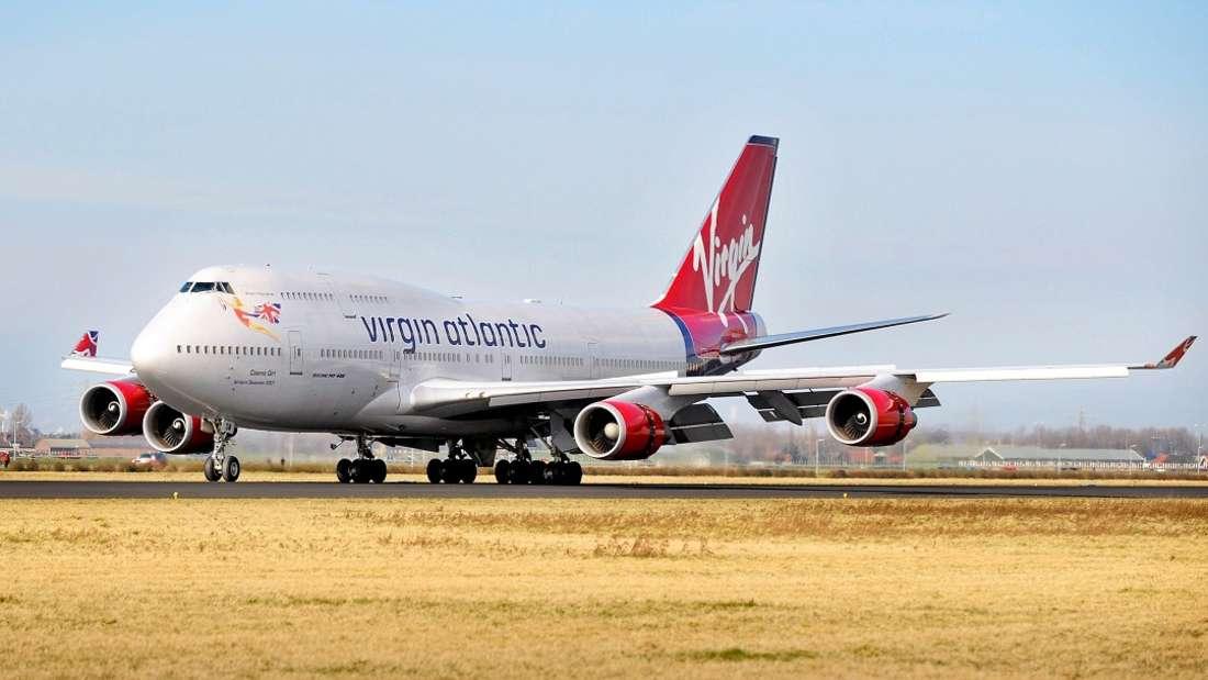 Auf einem Flug der Virgin Atlantic befiel die Insassen plötzlich ein starkes Unwohlsein. (Symbolbild)