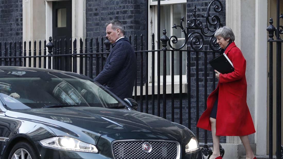 Der britischen Premierministerin Theresa May stehen entscheidende Tage bevor