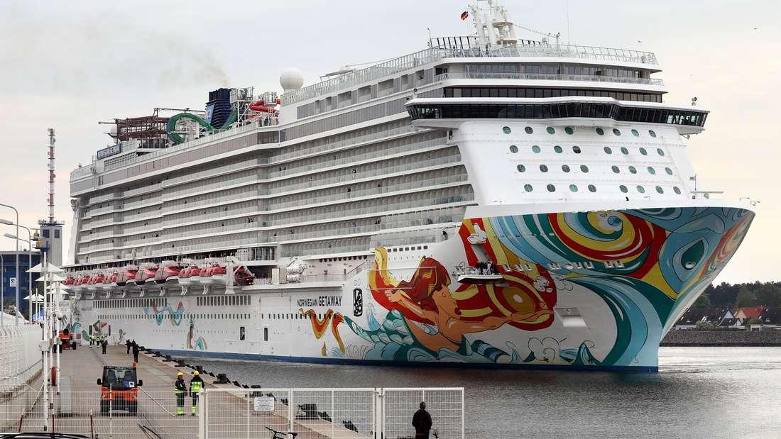 Kreuzfahrtschiffe verfügen über sehr hohe Sicherheitsstandards.