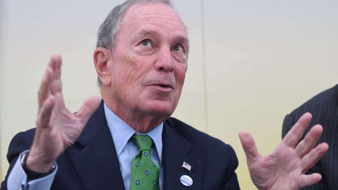 Platz 9: Ex-Bürgermeister von New York und Gründer des gleichnamigen Medienkonzerns - kein Wunder also, dass Michael Bloomberg sein Vermögen im vergangenen Jahr von 50 auf 55,5 Milliarden Dollar steigern konnte.