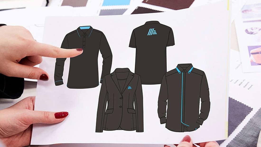 Präsentation der Kollektion Mitte 2018: So sollte die neue Kleidung in den Aldi-Filialen aussehen.