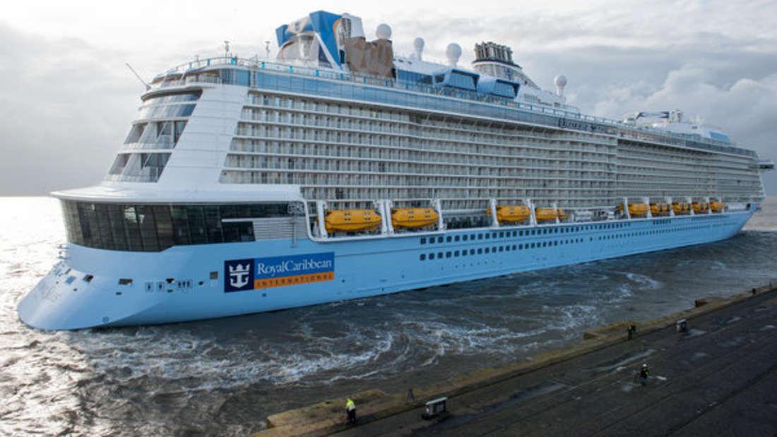 Auf einem Kreuzfahrtschiff der Royal Caribbean ereignete sich ein erschreckender Unfall (Symbolbild).