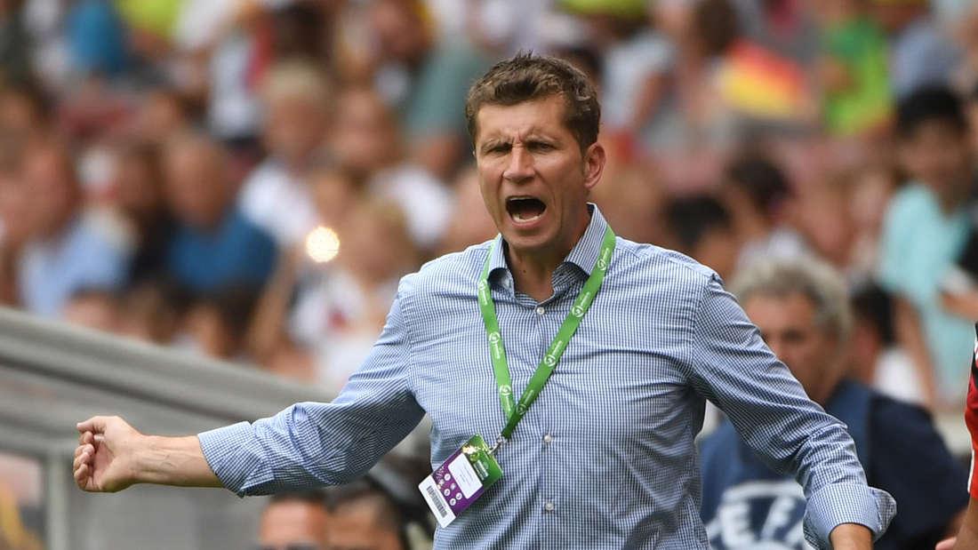 U19-Trainer Guido Streichsbier verpasste mit seiner Mannschaft die EM-Endrunde.