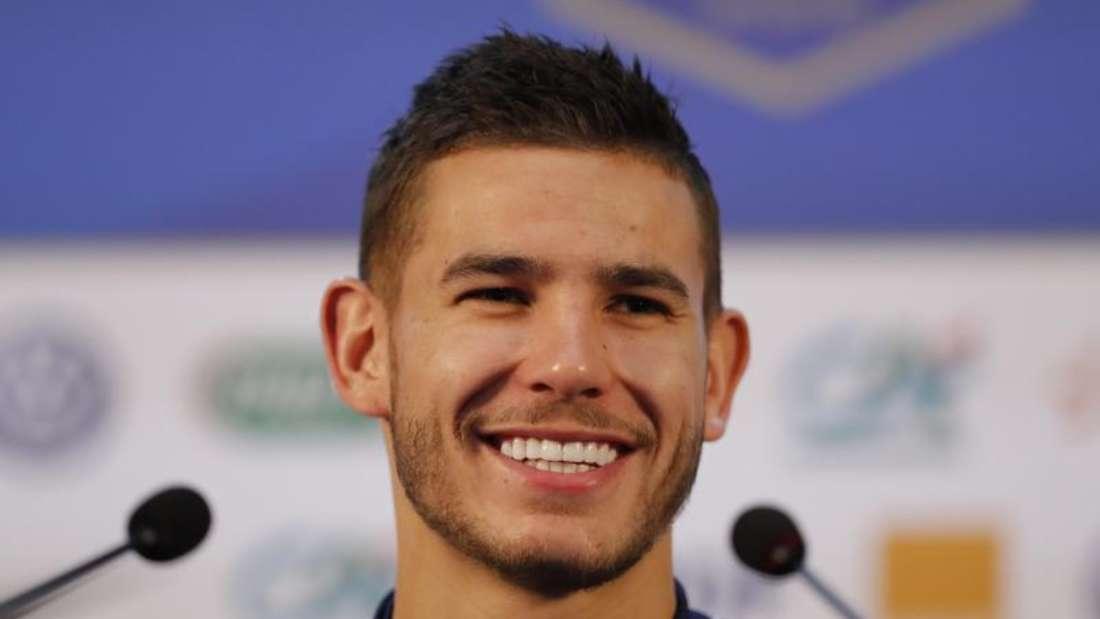 Transfer perfekt: Lucas Hernández wechselt zum FC Bayern München. Foto:David Vincent/AP