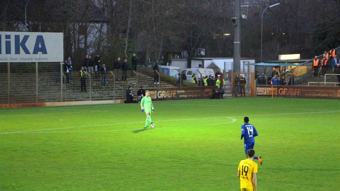 bfv-Rothaus-Pokal zwischen dem VfB Gartenstadt und dem Karlsruher im Rhein-Neckar-Stadion