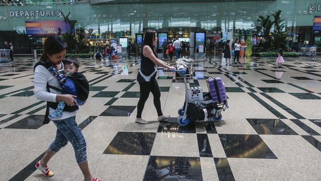 Der Changi Airport in Singapur ist zum siebten Mal in Folge zum besten Flughafen der Welt gekürt worden.