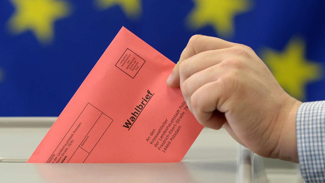 Am 26. Mai 2019 wird das neue Europaparlament gewählt. Wer nicht zur EU-Wahl gehen kann, kann auch per Brief wählen. Das müssen Sie zur Briefwahl wissen.