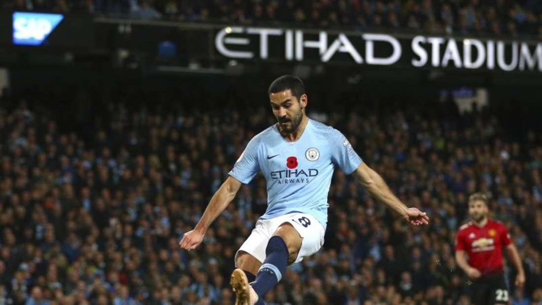 Laut Medienberichten hat Ilkay Gündogan die Vertragsverhandlungen mit Manchester City gestoppt. Foto: Dave Thompson/AP/dpa