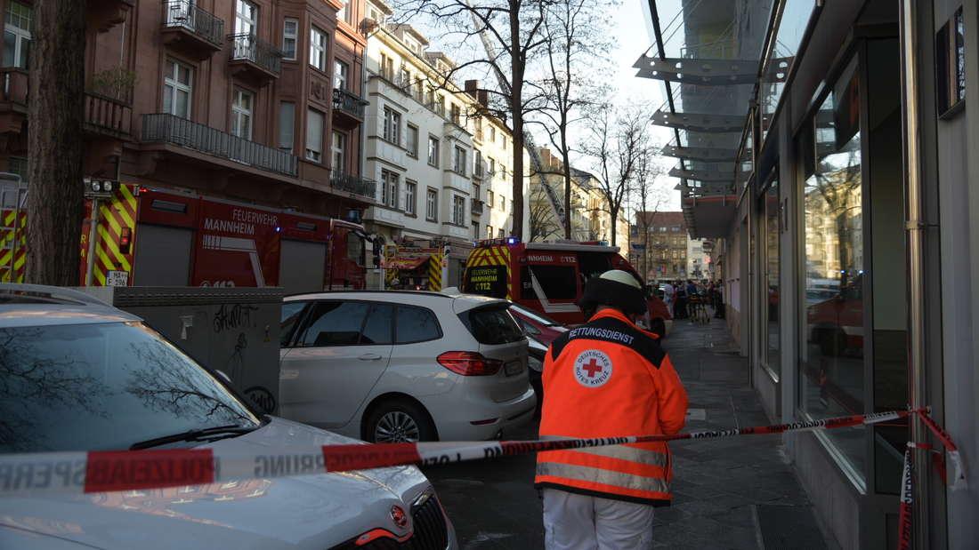 Wohnung brennt in der Mollstraße