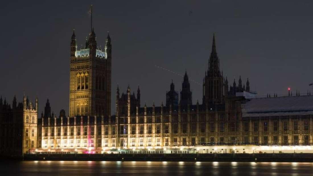 Noch strahlt der Westminsterpalast in vollem Glanze. Foto: David Parry/PA