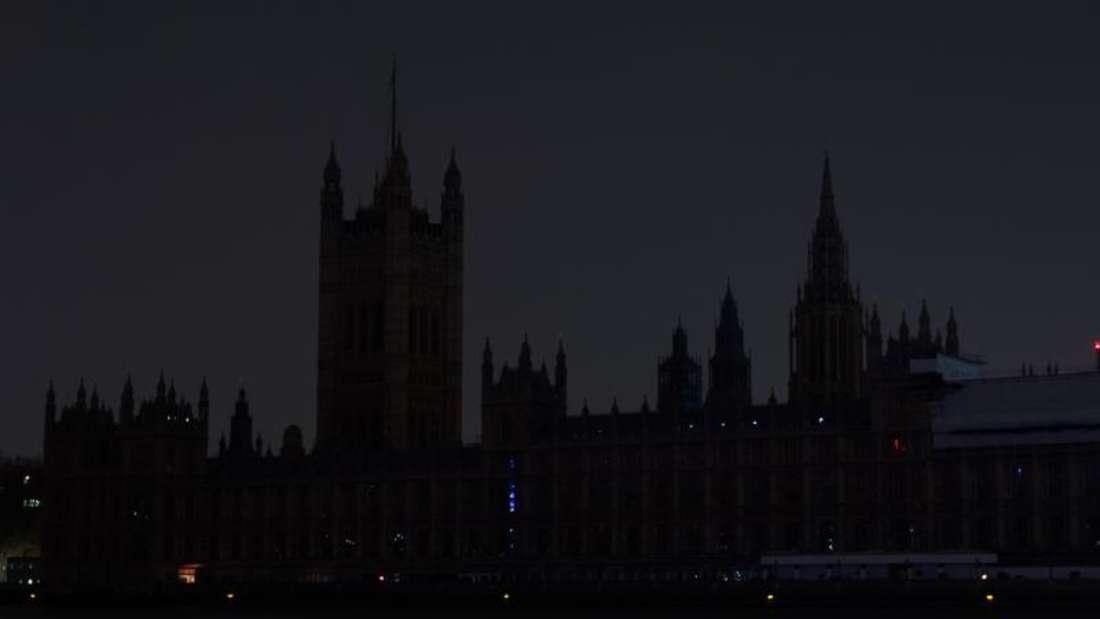 Im Palace of Westminster sind die Lichter ausgegangen. Foto: David Parry/PA
