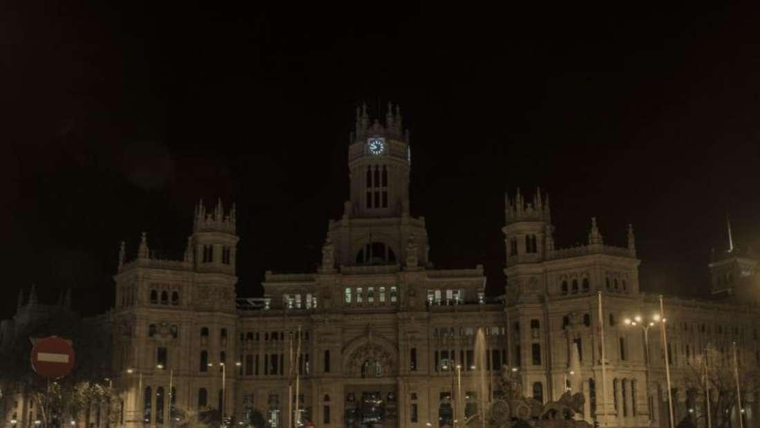 Der Palast der Kommunikation in Madrid. Foto: Alberto Sibaja/SOPA Images via ZUMA