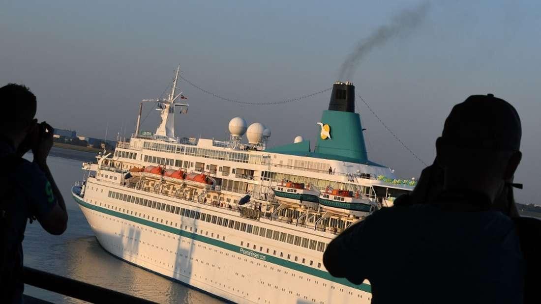Mitarbeitern von Kreuzfahrtschiffen liegen manchmal die Nerven blank. (Symbolbild)