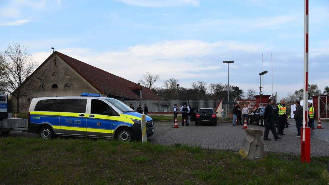 """Die Drogen-Kontrollen der Polizei bei der """"Time Warp"""" in Mannheim."""