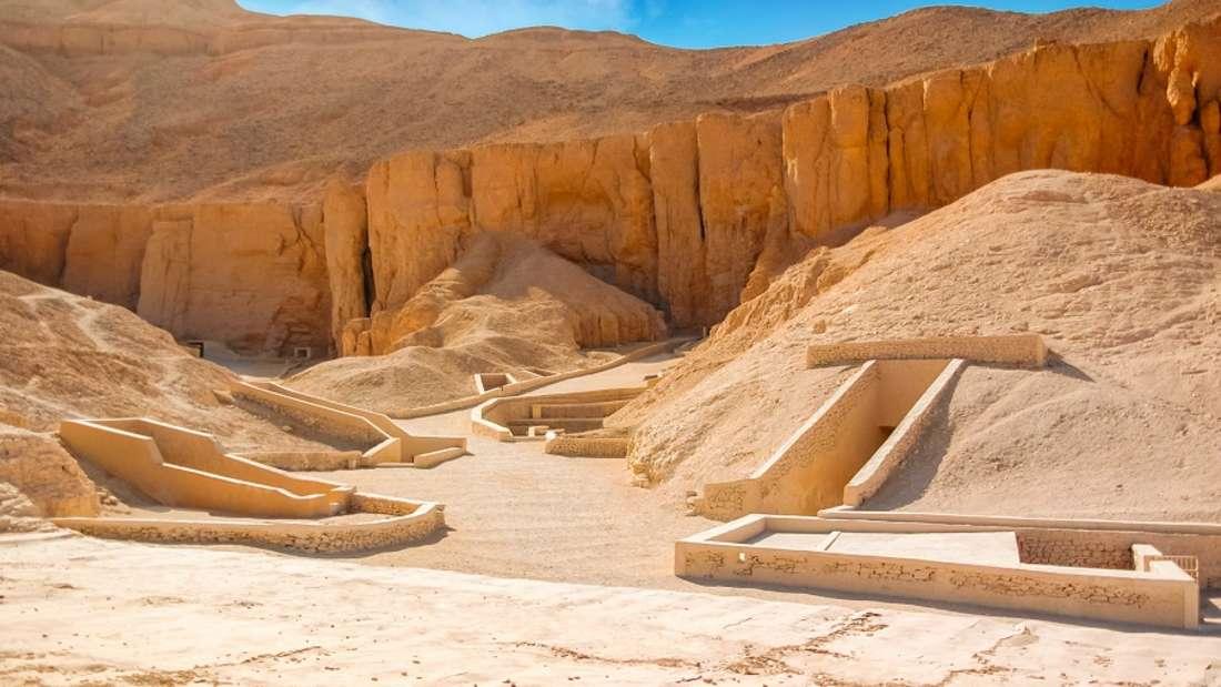 Tutanchamuns Grabstätte, Tal der Könige, Ägypten