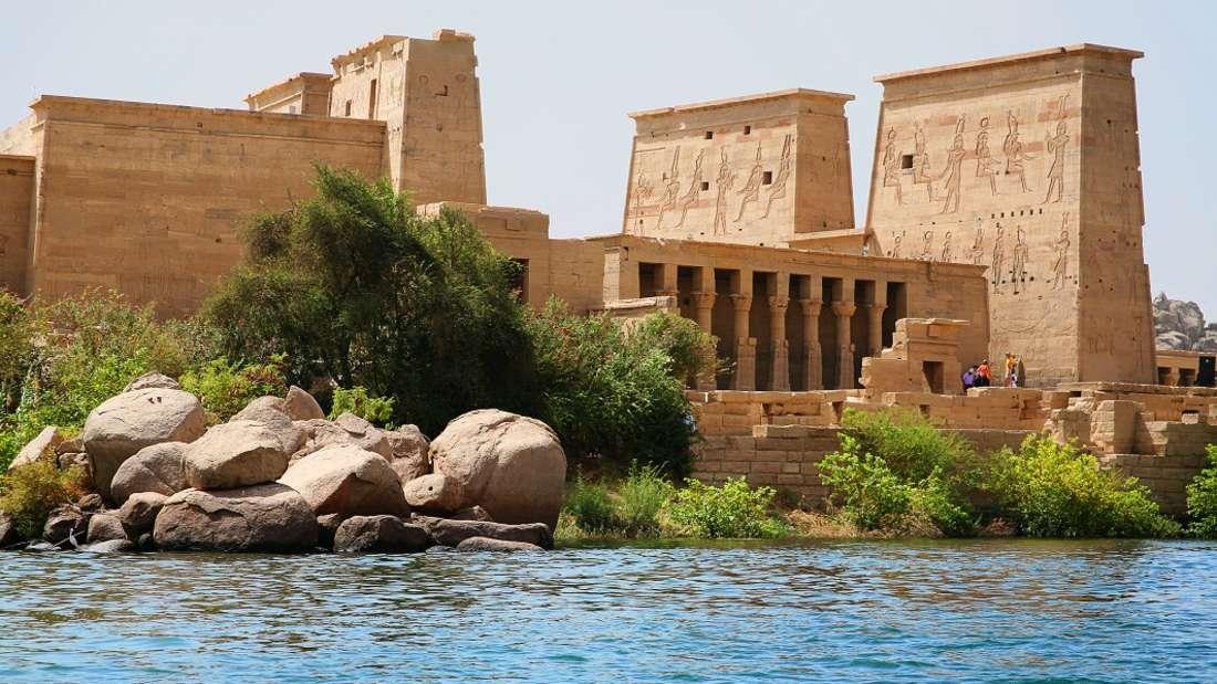 Der Tempel von Philae, Assuan, Ägypten