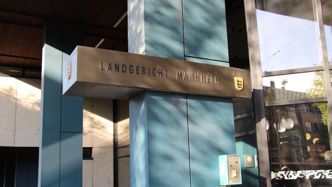 Am Landgericht Mannheim fällt heute das Urteil. (Archivfoto)
